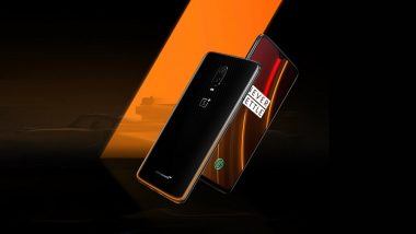 OnePlus 6T McLaren Edition Smartphone Launched Globally at $699; To Go on Sale on December 13